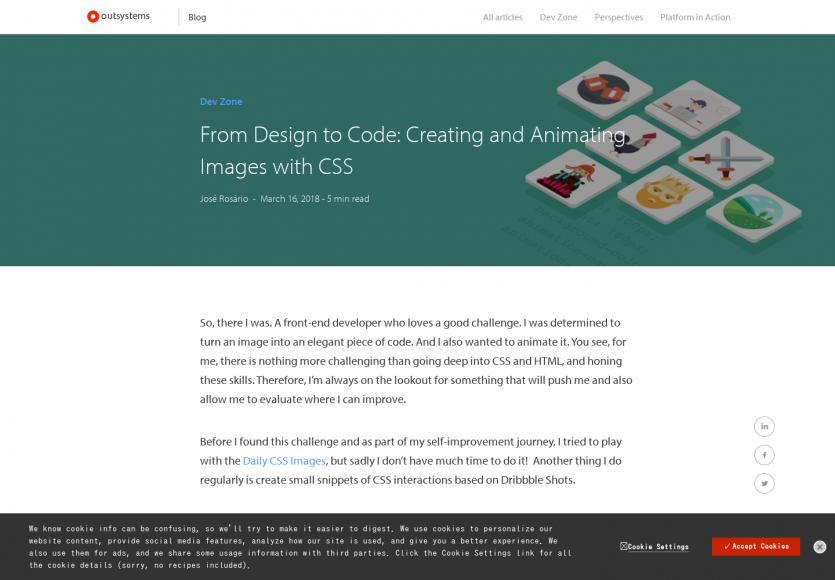 Du design au code: Animez vos images en CSS