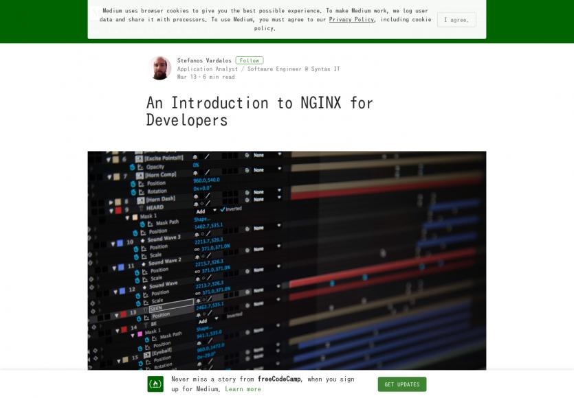 Une intro sur Nginx à destination des développeurs