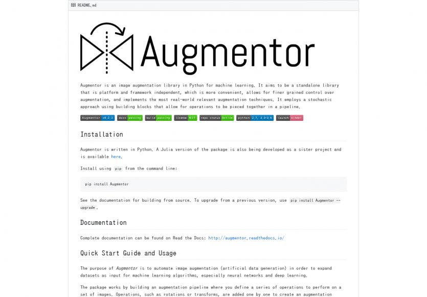 Augmentor: Une lib python pour agrandir vos images via du machine learning