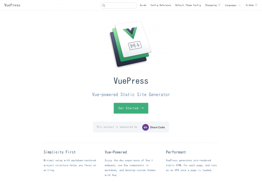 VuePress: Un générateur de sites statiques en Vue.js