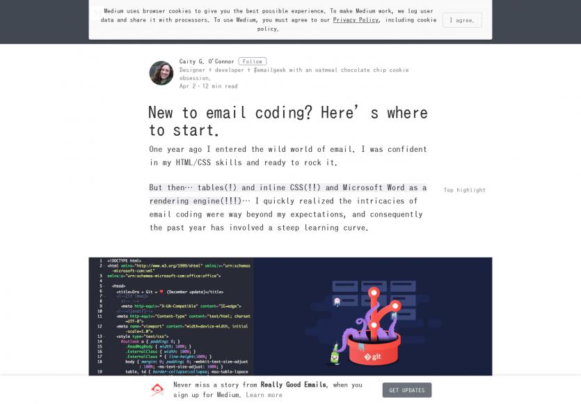 Comment bien démarrer dans la création d'emailing HTML/CSS
