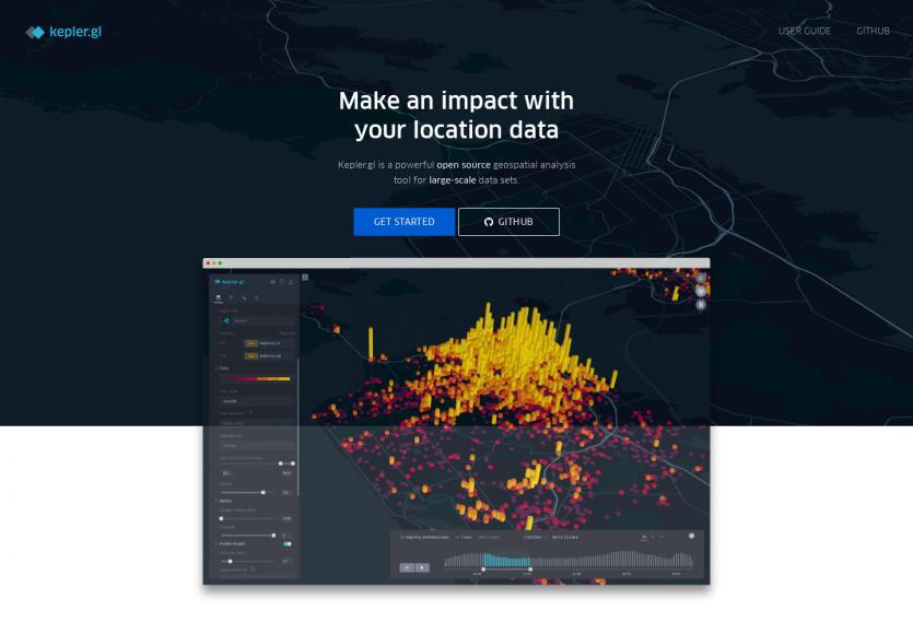 Kepler: Un outil de data viz WebGL pour afficher de nombreuses données