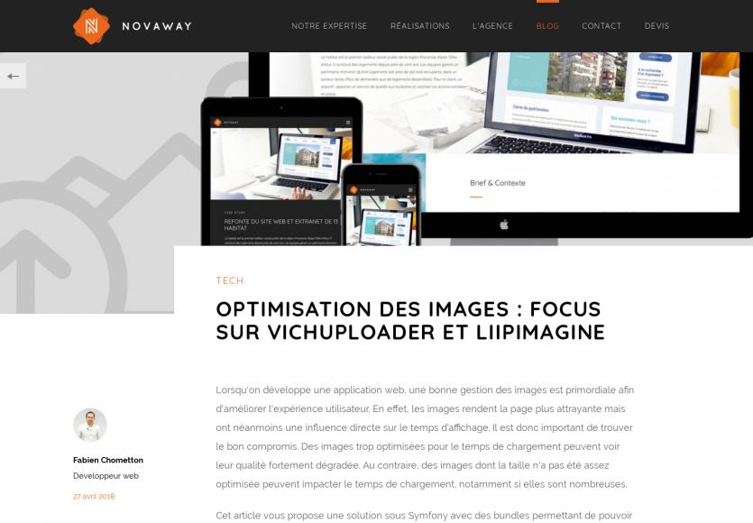 Optimiser l'upload d'images sur votre plateforme Symfony avec VichUploader et LiipImagine