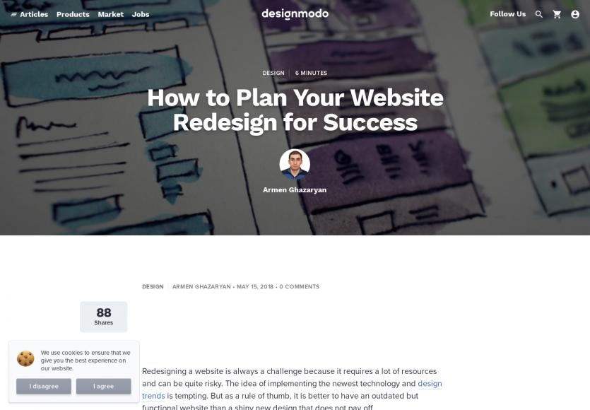 Comment bien planifier la refonte graphique de son site web