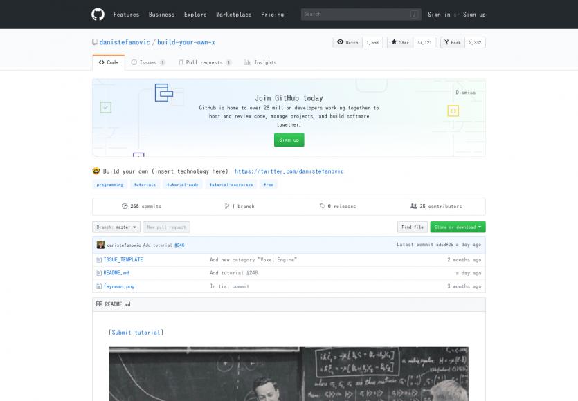 Créer son propre X: Une liste de tutoriel pour créer une multitude de technos