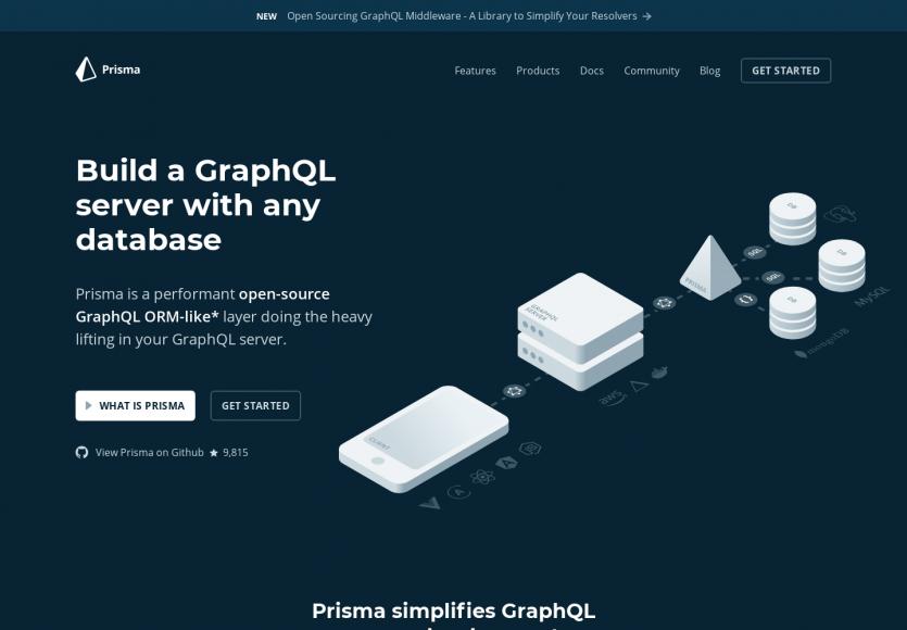 Prisma: Transformez n'importe quelle base de données en une API GraphQL