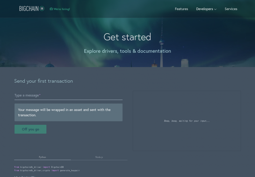 BigchainDB: Une base de données distribuée basée sur les concepts de blockchain