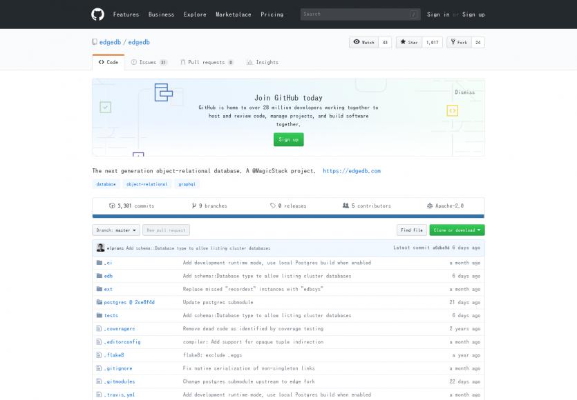 EdgeDB: Une base de données relationnelle moderne basée sur PostgreSQL