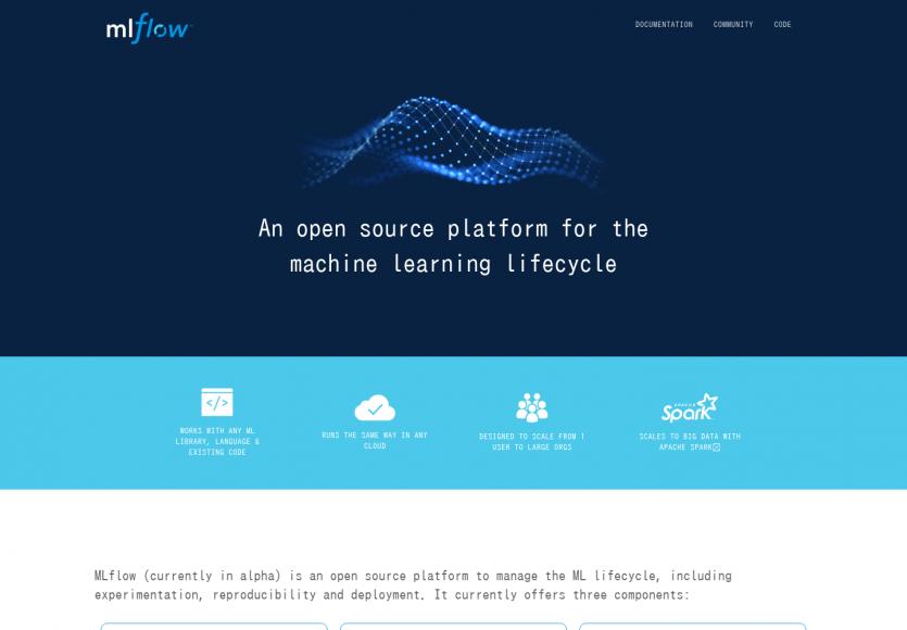 MLFlow: Une plateforme opensource pour le cycle de vie complet du machine learning