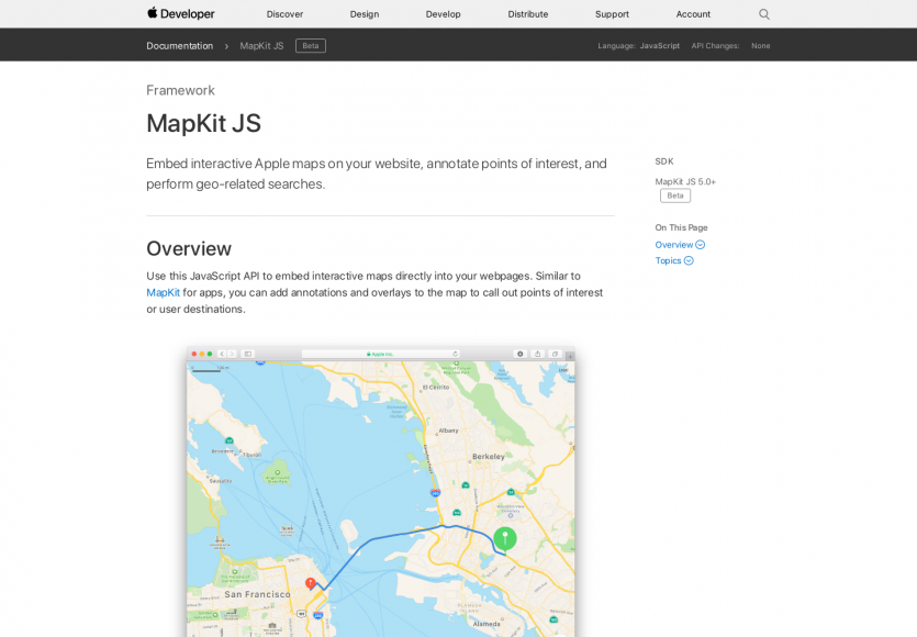 Mapkit.js: Intégrez les cartes Apple sur vos pages web