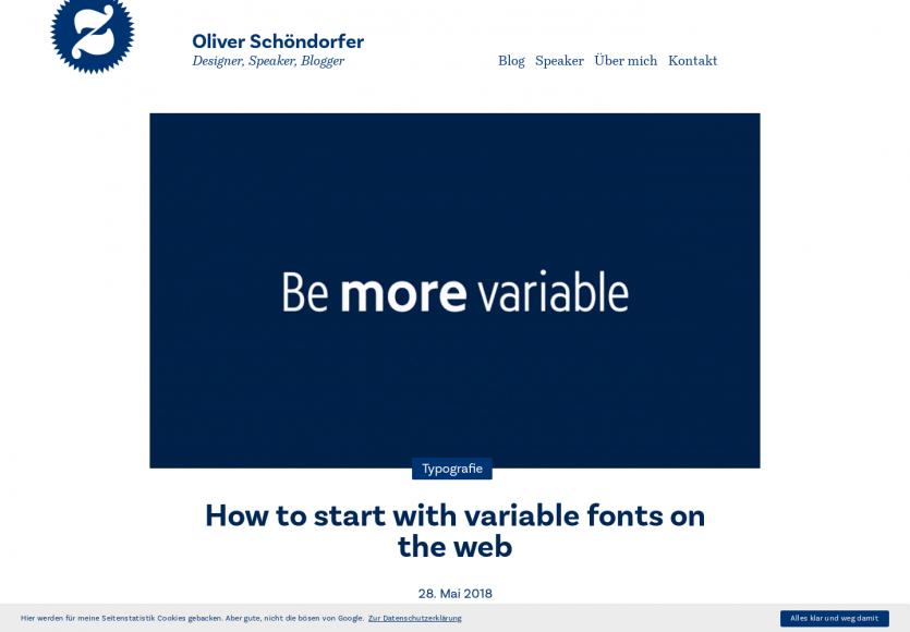 Comment commencer à utiliser les fonts variables sur le web