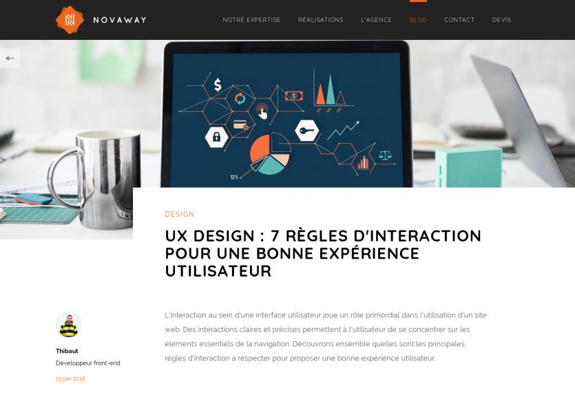 UX Design: 7 règles d'interaction à suivre pour une bonne expérience utilisateur