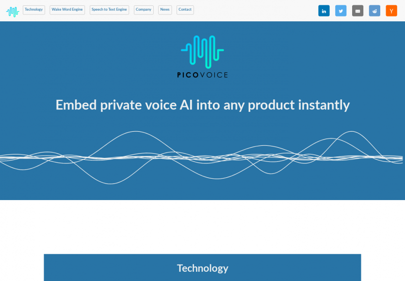 Picovoice: Une plateforme opensource de reconnaissance de voix et text to speech type Alexa