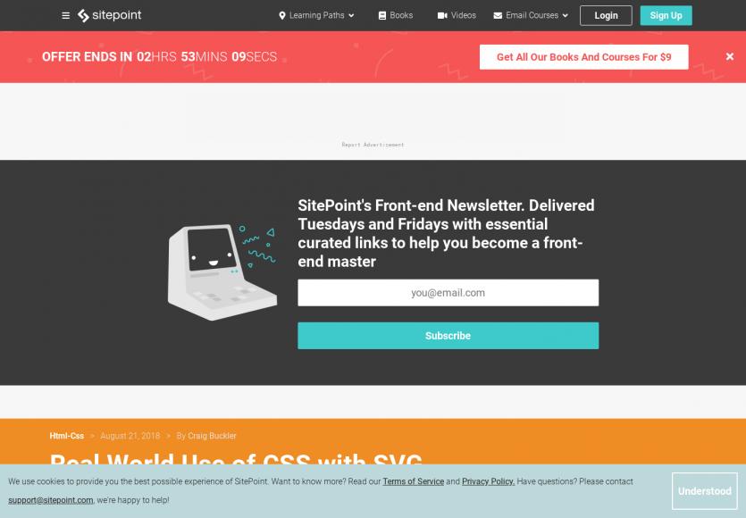 Des cas pratiques d'usage de CSS sur des SVG