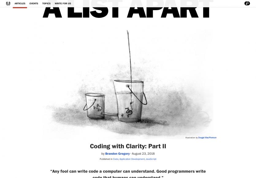 Développer avec plus de clarté pour un code plus lisible en orienté objet