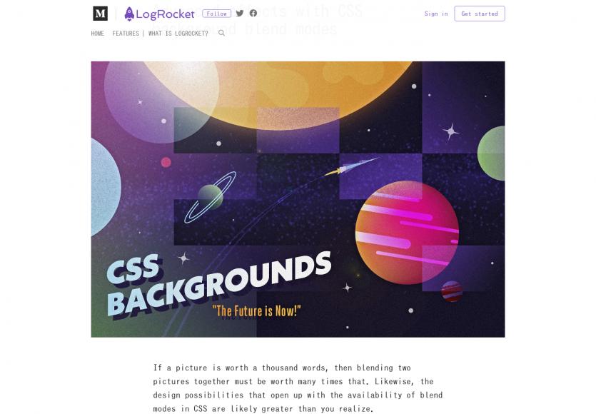 Des effets avancés avec les CSS Backgrounds Blend modes
