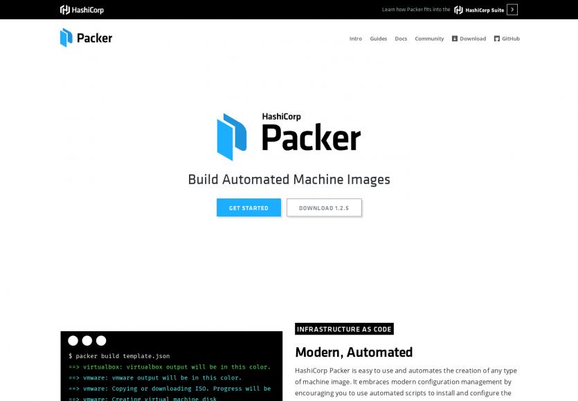 Packer: Un outil pour générer une image système basée sur un fichier de config JSON