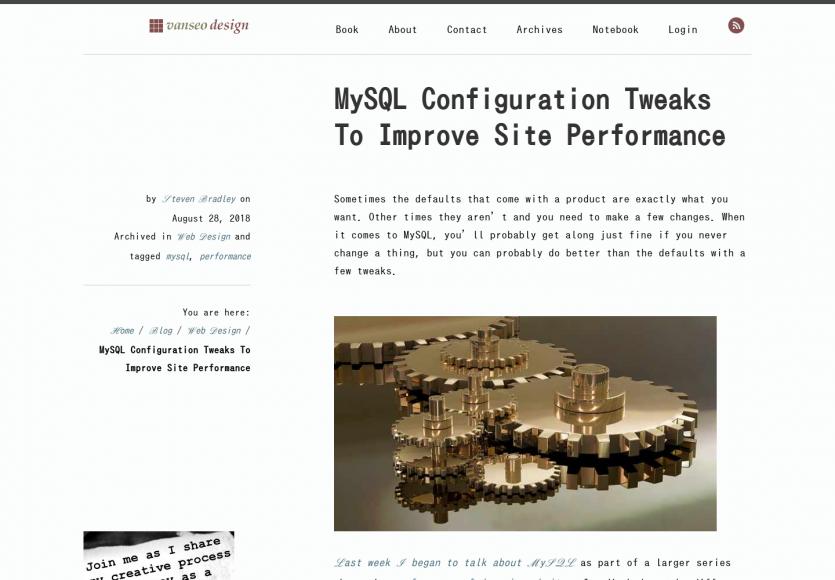 Quelques astuces de configuration MySQL pour améliorer les perfs de votre site web
