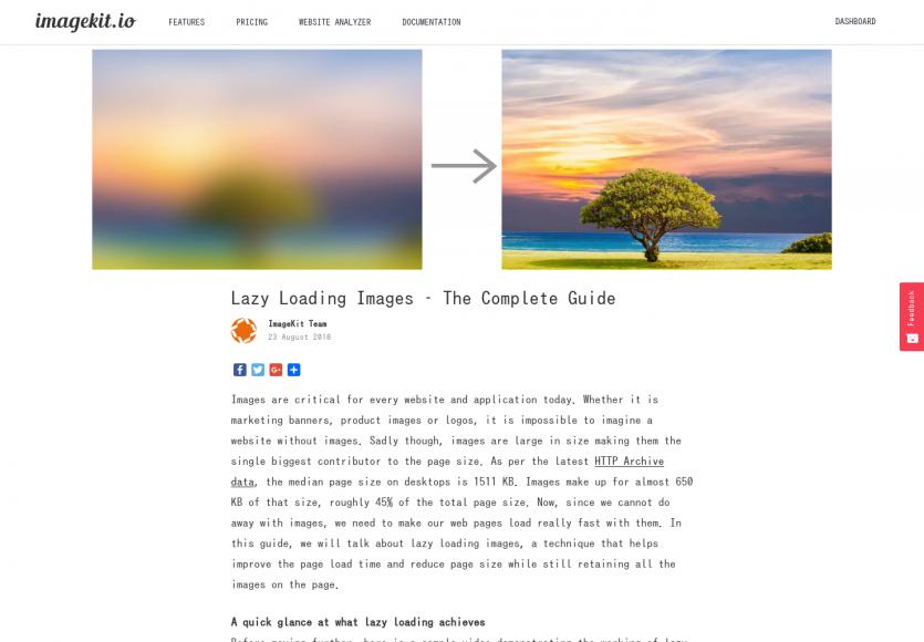 Un guide complet sur le Lazy loading d'images pour améliorer vos performances web