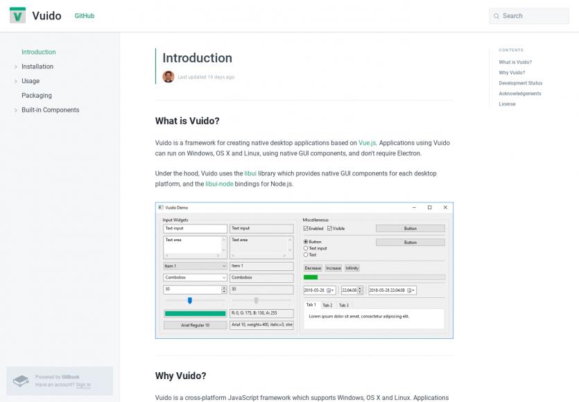 Vuido: Une alternative à Electron pour créer des apps desktop cross-OS avec Vue.js