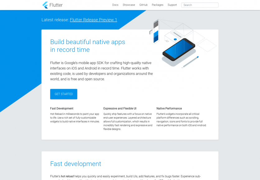 Flutter: Le  framework hybride de Google permettant de créer des applications mobiles natives