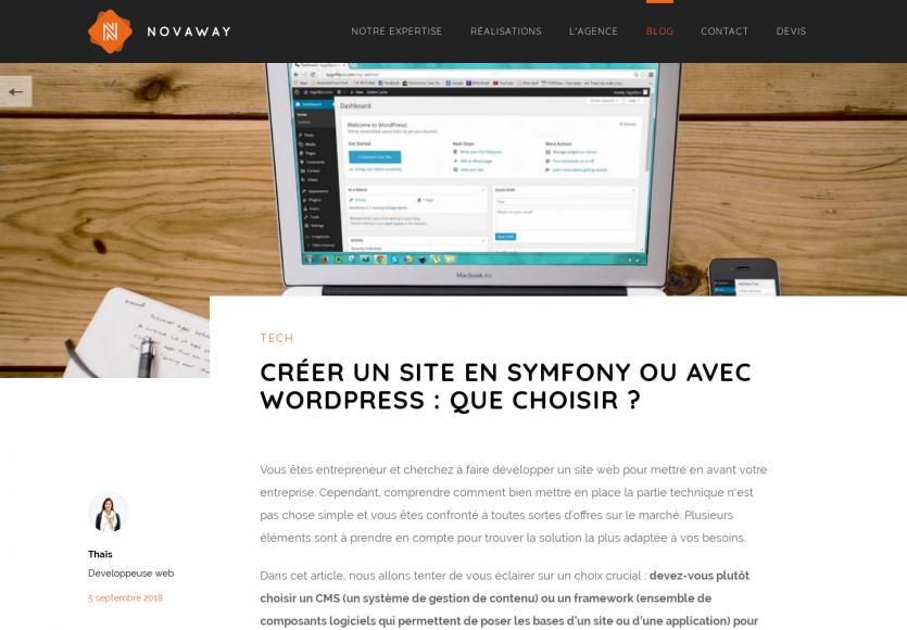 Choix technique: Quand utiliser un CMS comme WordPress vs un framework comme Symfony ?