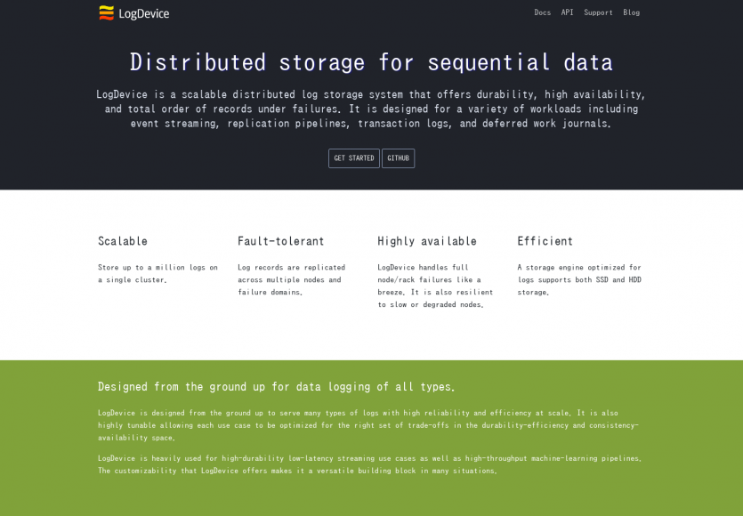 LogDevice: Un système de stockage de logs distribué par Facebook