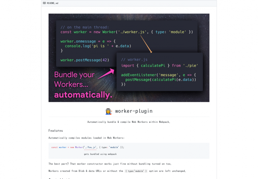 Worker Plugin: Ajoutez un support natif des Web Workers dans Webpack facilement