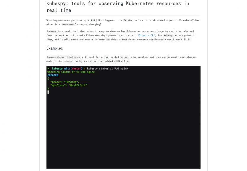 Kubespy: Suivez en temps réel les ressources de vos Kubernetes
