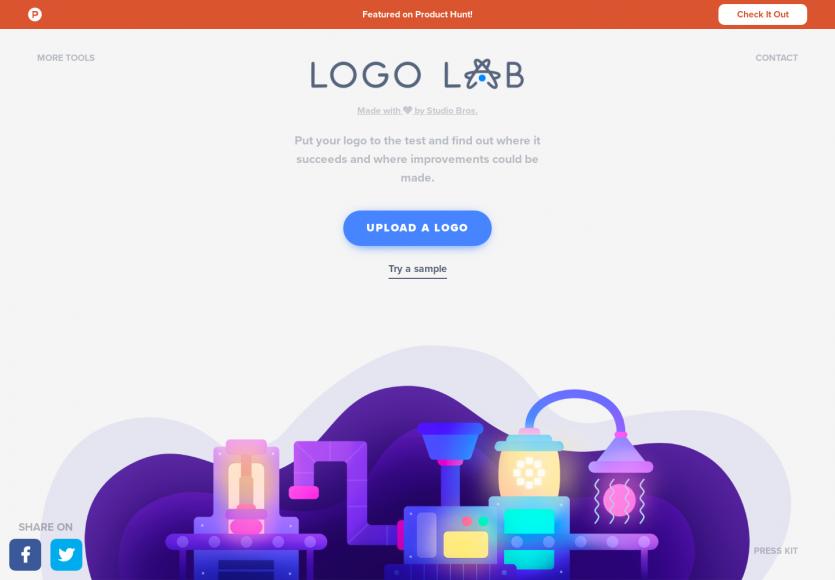 Logolab: Testez le rendu de votre logo sous différentes coutures