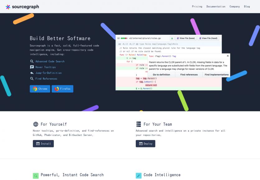Sourcegraph: Une plateforme opensource pour visualiser et rechercher dans le code de vos projets