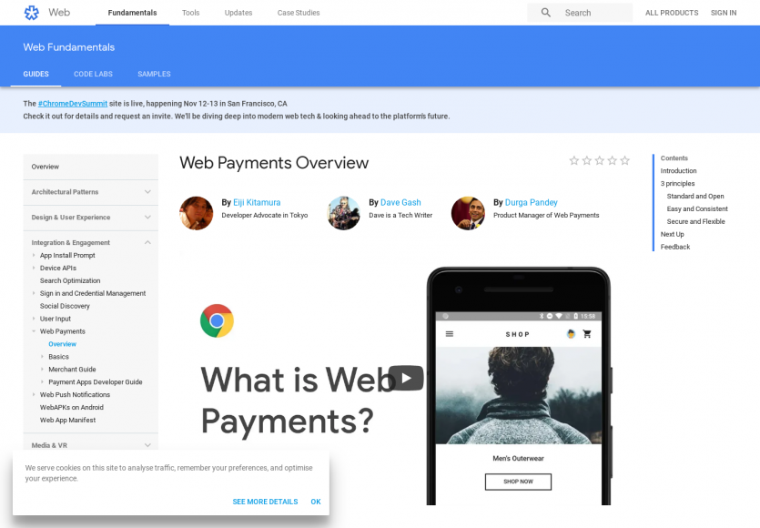 Comment fonctionnent les Web Payments ?