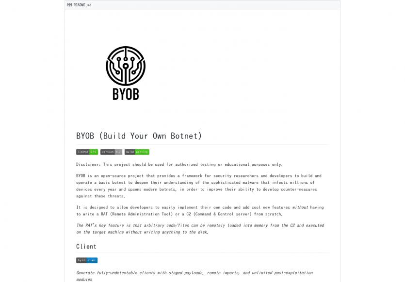 BYOB: Construisez votre propre Botnet pour comprendre leur fonctionnement