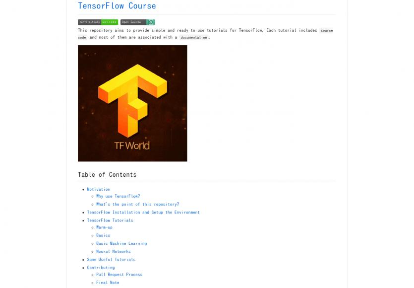 TensorFlow Course : des tutoriels pratiques pour apprendre à maîtriser TensorFlow