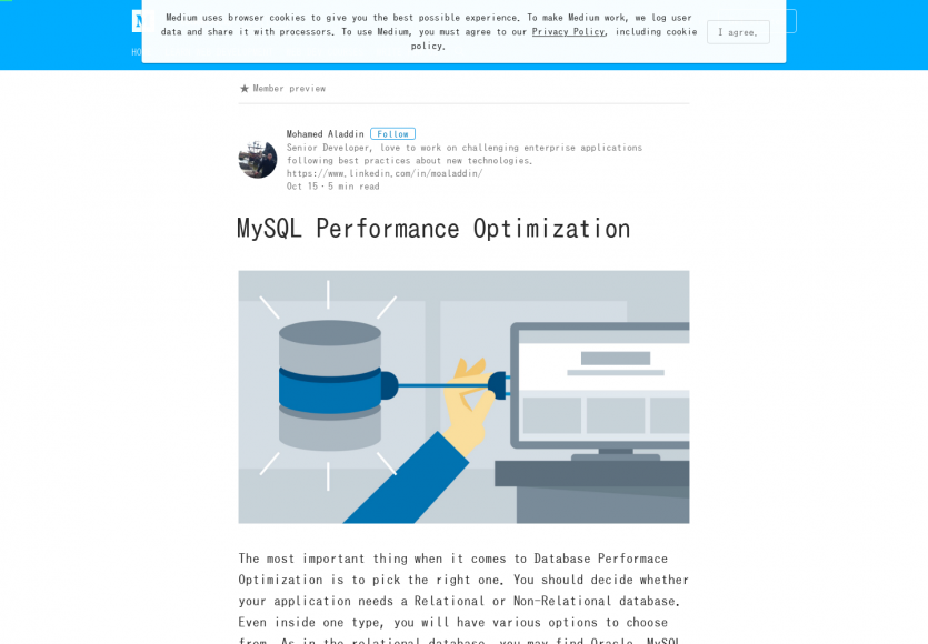 Optimiser les performances de son serveur MySQL