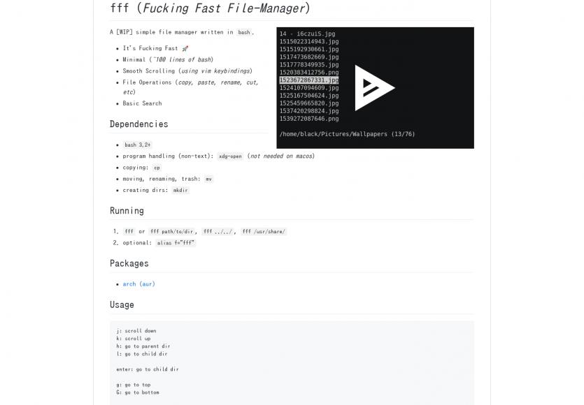 FFF: Un file manager efficace pour votre terminal