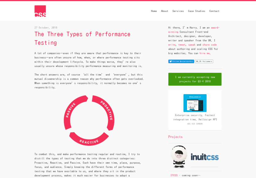 Les 3 différents types de tests de performances