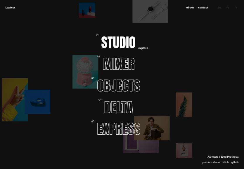 Animated Grid Preview : Une animation moderne pour présenter des grilles de photos