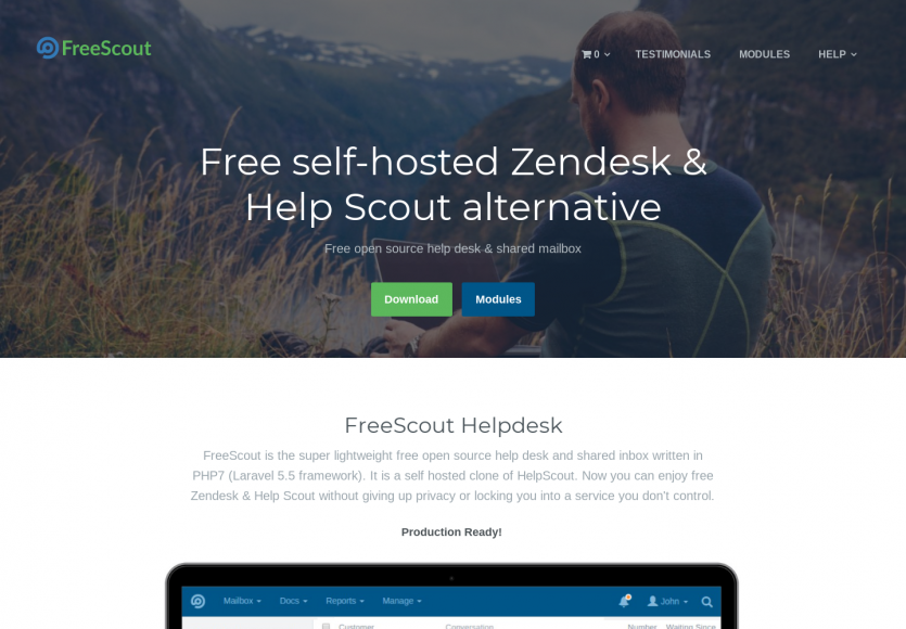 Freescout: Une alternative open source à Freshdesk et help scout sous Laravel