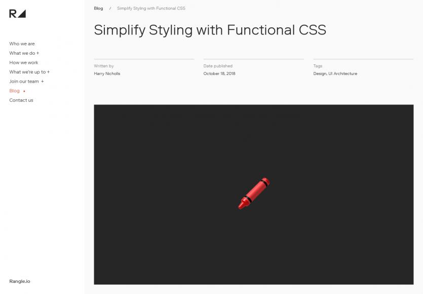 Simplifier le styling de pages web avec du CSS fonctionnel