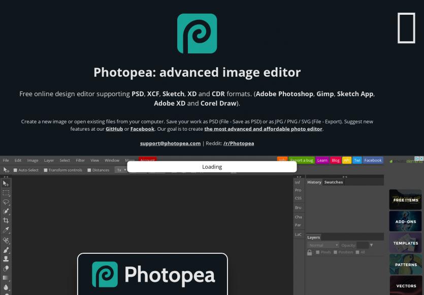 Photopea : une alternative gratuite à Photoshop directement dans votre navigateur