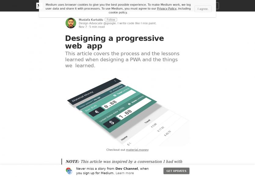 Comment designer une progressive web app ?
