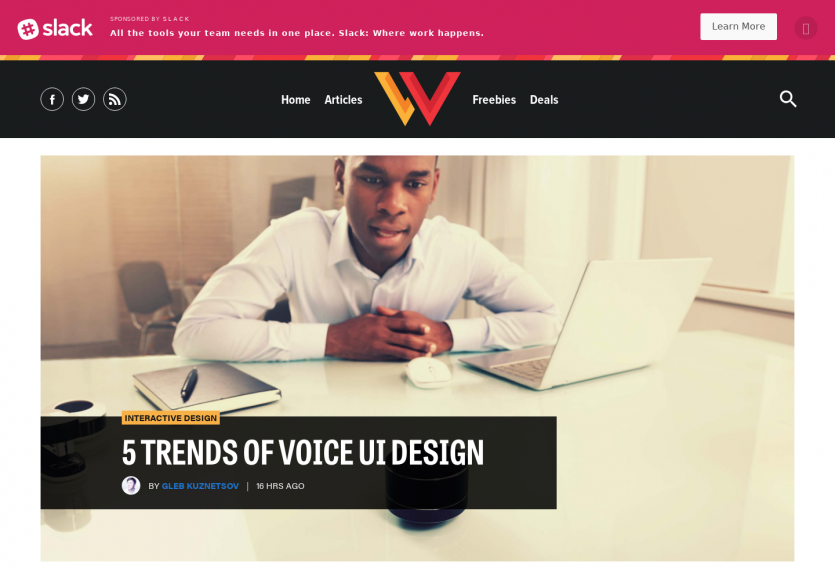 5 tendances d'UI design pour interfaces vocales