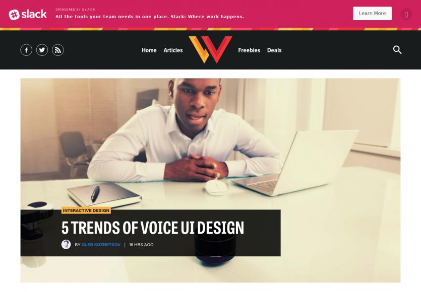 5 tendances d'UI design pour interfaces vocales