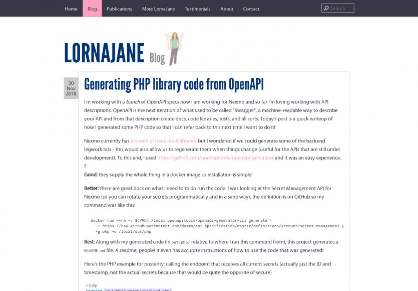 Générer le code de votre API PHP à partir de vos specs OpenAPI