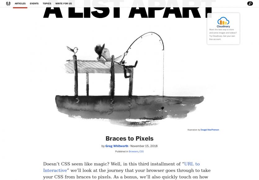 Comment fonctionne réellement le CSS du code aux pixels