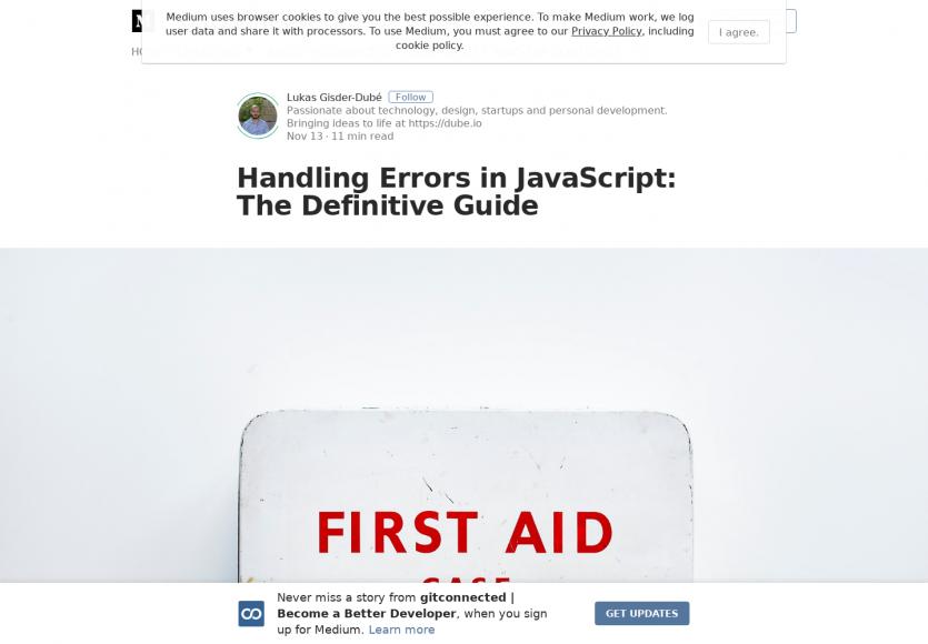 Bien gérer vos erreurs en Javascript, le guide complet