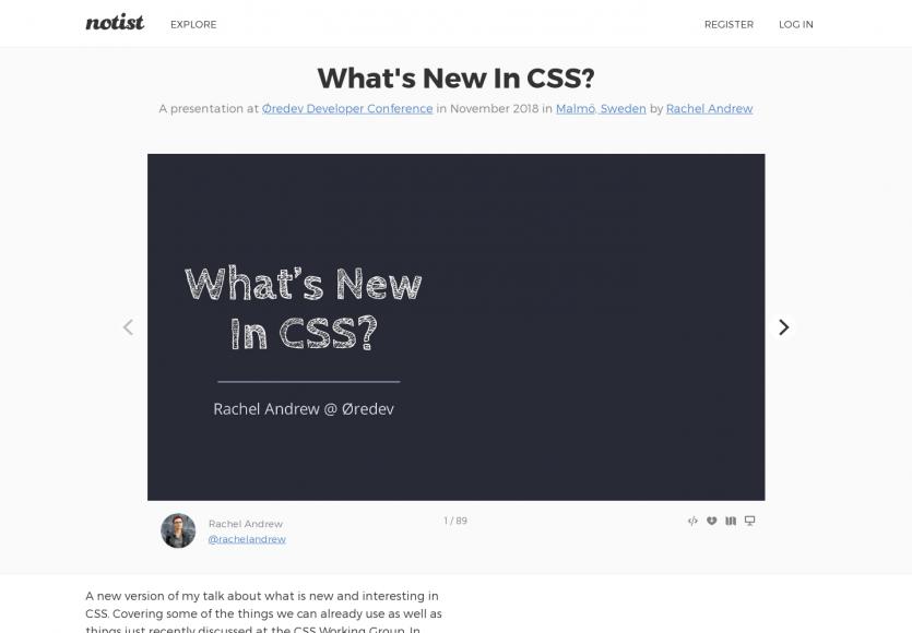 Quelles sont les nouveautés en CSS ?
