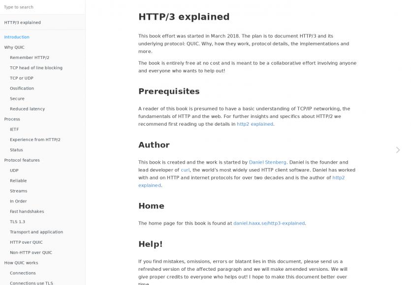 Le protocole HTTP/3 expliqué en détail dans un ebook gratuit