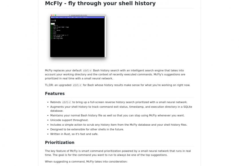 McFly : une alternative à CTRL+R pour naviguer efficacement dans l'historique Bash